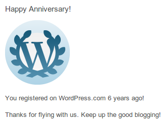 Let's celebrate by introducing a new blog. ;)